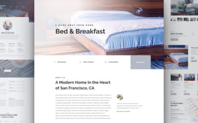 Layout sito per Hotel e Bed and Breakfast